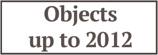 Objects up to 2012