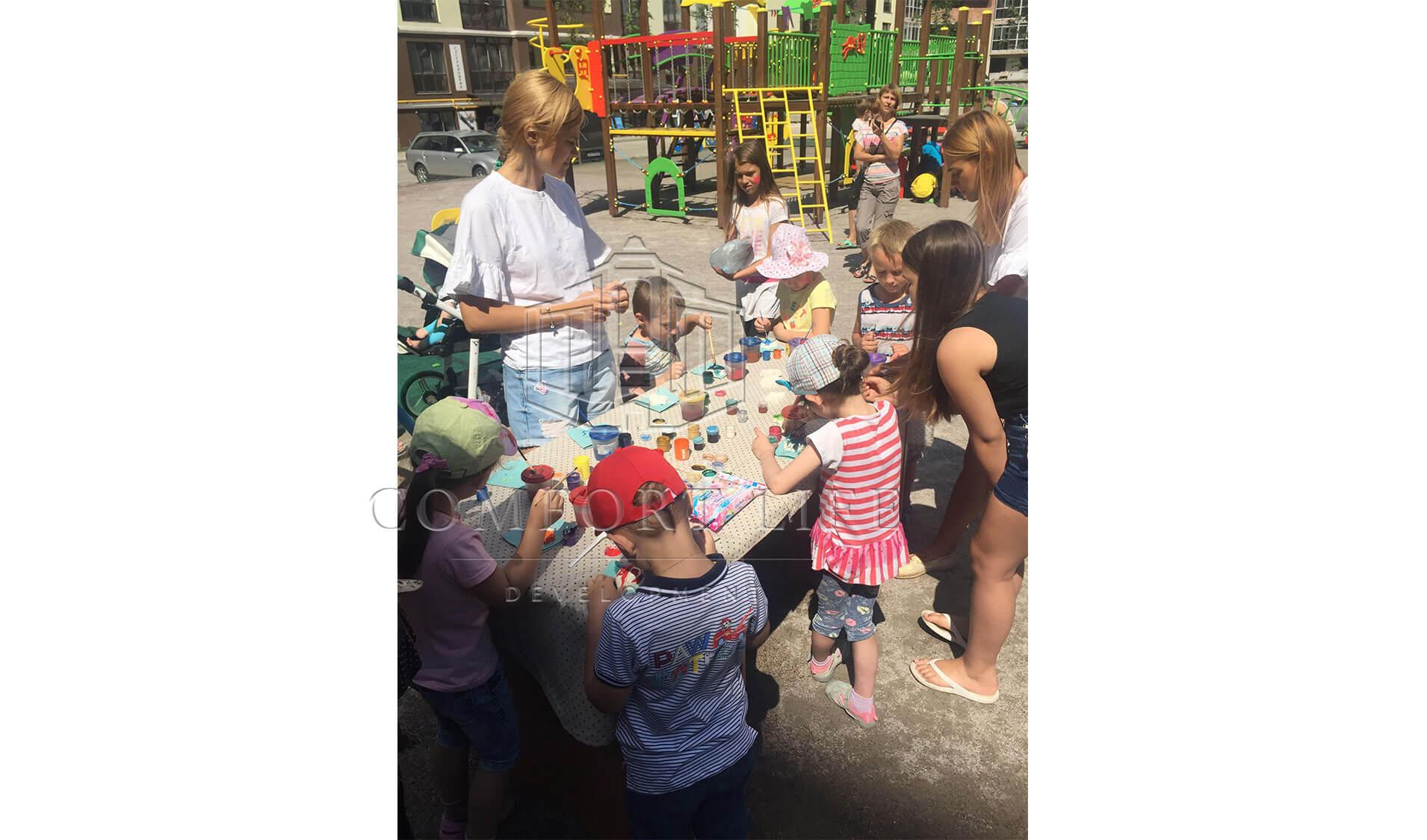 Відкриття дитячого майданчика в житловому комплексі «Лісова казка»