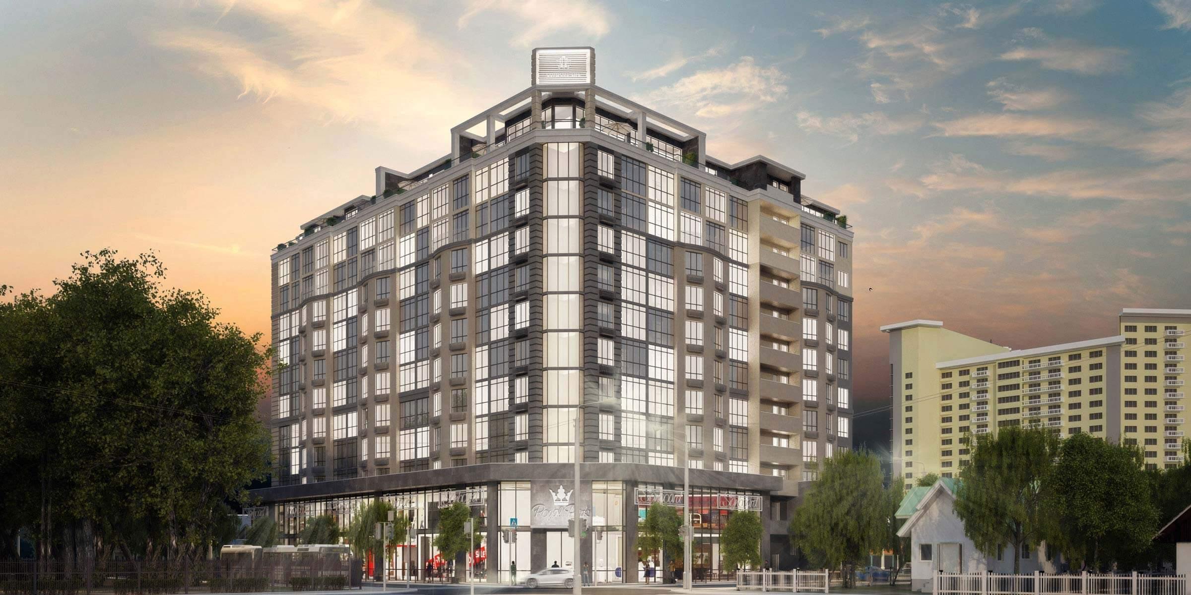 (UA) Comfort Life Development представляє житловий комплекс «Royal Park».