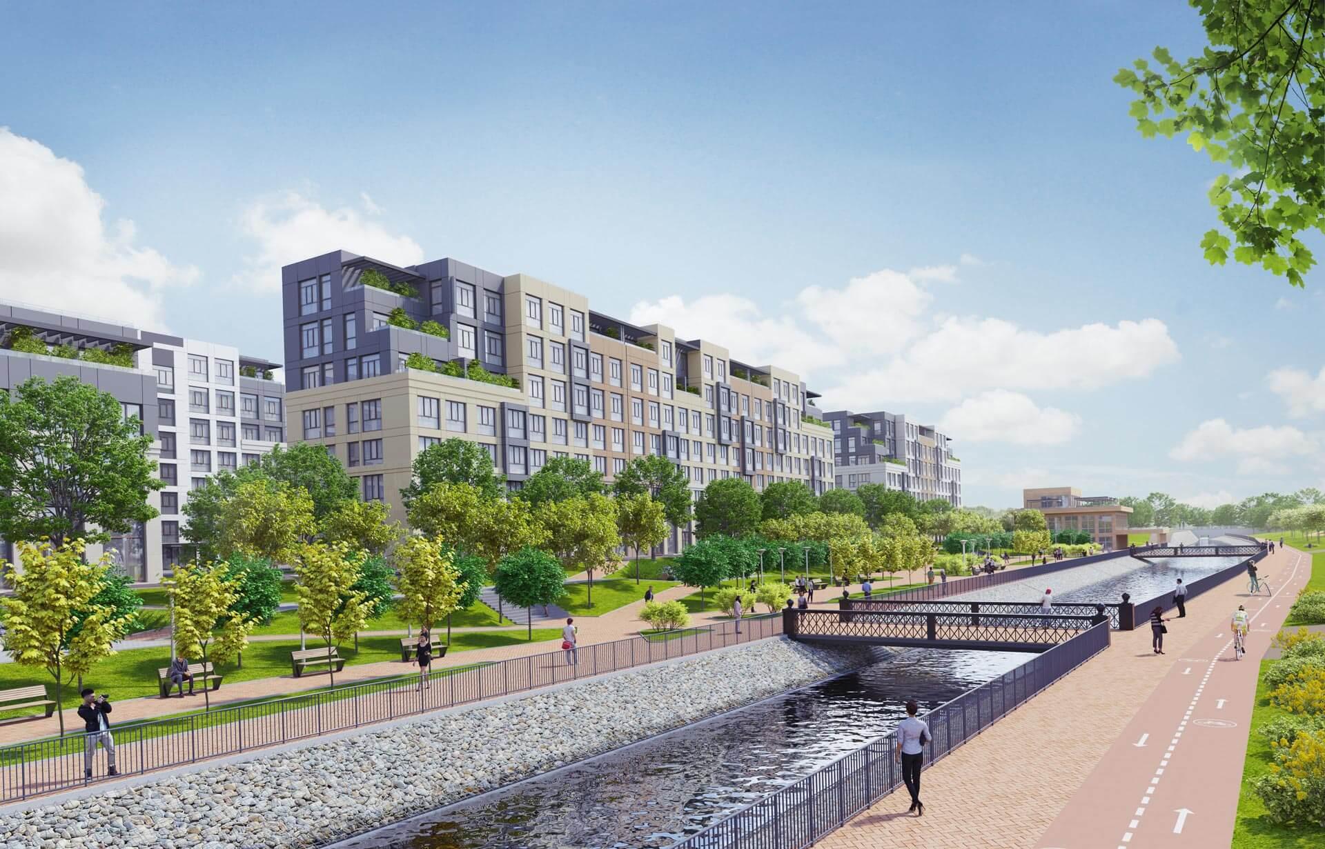 Comfort Life Development представляє житловий квартал «Riverside»
