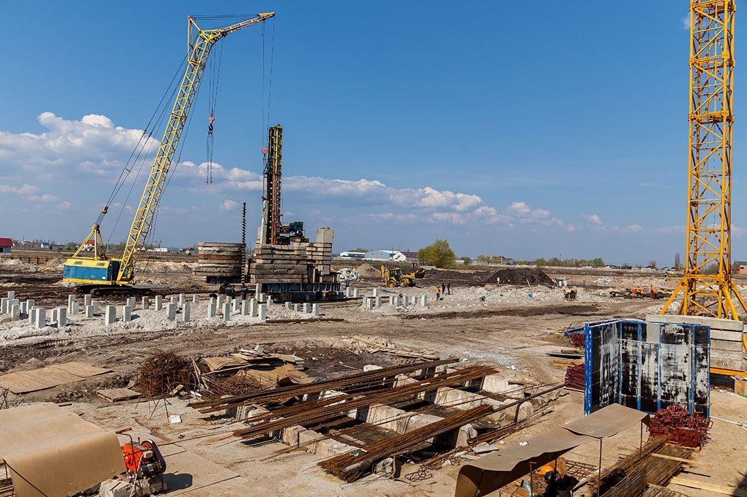 Хід будівництва ЖК «Riverside» від 03.05.19