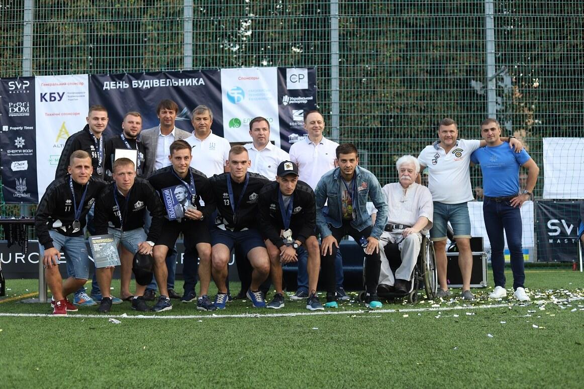 Футбольна команда Comfort Life Development здобула бронзу в EUROPIAN BUILDERS CUP 2019