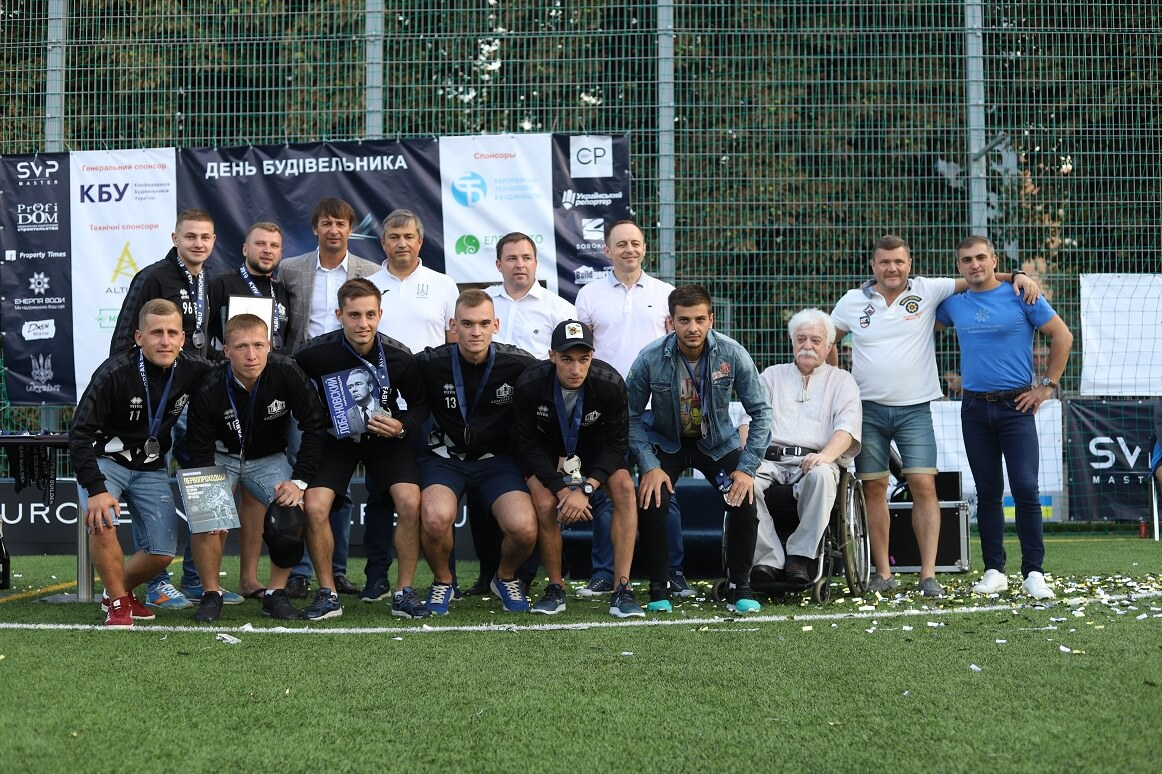 The Comfort Life Development football team won bronze at the EUROPIAN BUILDERS CUP 2019