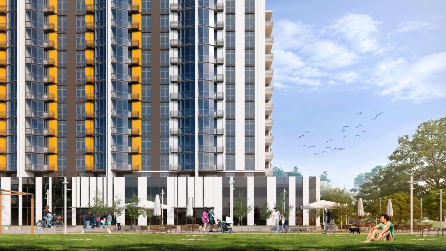 Comfort Life began work on the construction of a complex in Bucha on 34b Ostrovskogo street